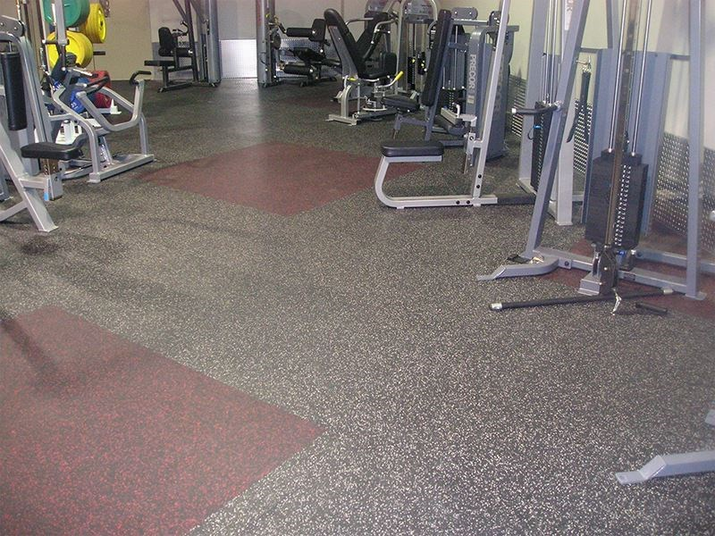 Image of athletic flooring for sports and workout facilities.