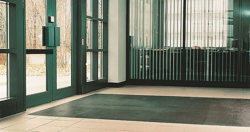 Image of a floor mat for commercial buildings.