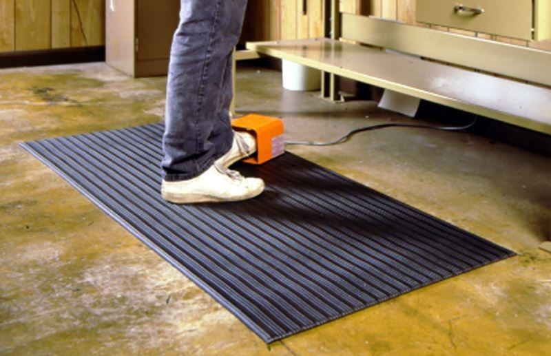Image of a floor mat designed for support.