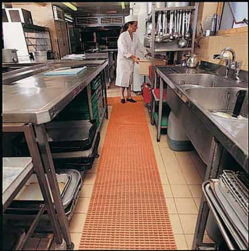 Image of a food industry floor mat.