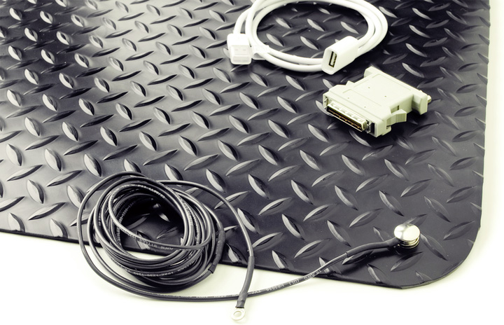 Image of sensitive devices that can be protected by anti-static mats.
