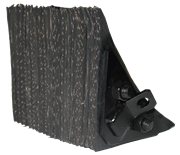 Picture of Heavy-Duty Recycled Rubber Wheel Chocks
